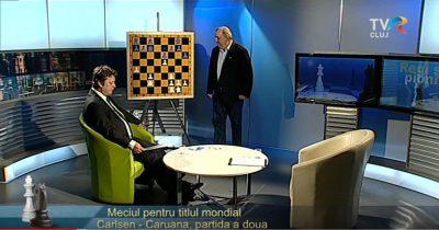 Meciul pentru titlul mondial - Carlsen Caruana - partida a doua